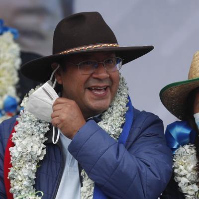 Nuevo presidente de Bolivia asumirá el 8 de noviembre