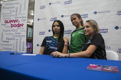 Melanie Díaz y Daniely Ríos