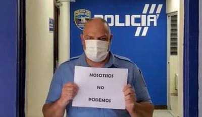 policias coronavirus