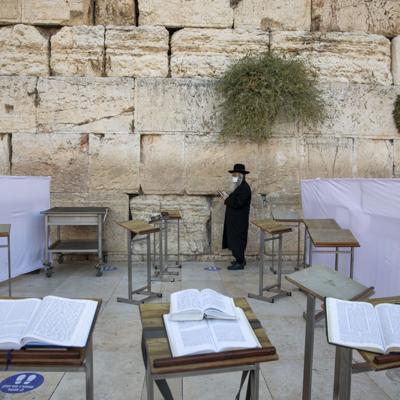 Israelíes se preparan para Yom Kipur en medio de la pandemia