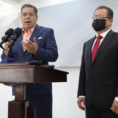 Presidentes legislativos se reúnen con Pierluisi en Fortaleza