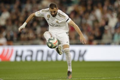 Benzema guía goleada del Real Madrid