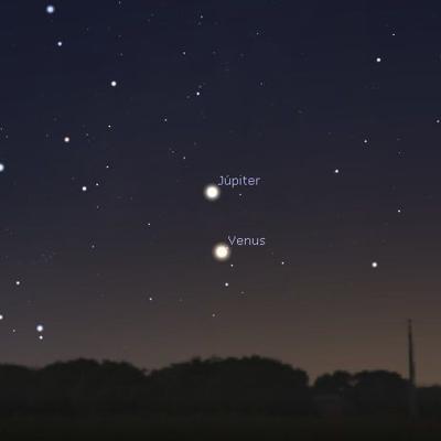 Dos brillantes planetas se cruzarán en el cielo esta semana