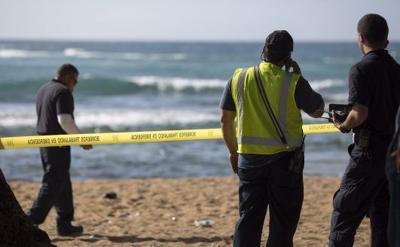 Una avioneta se estrella en playa de Piñones
