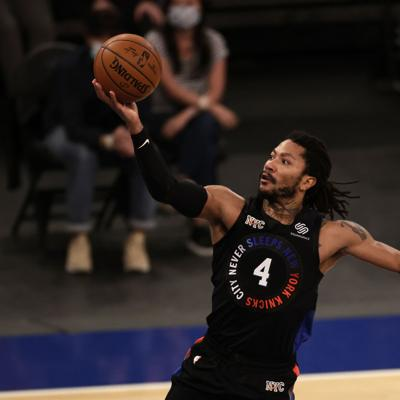 Derrick Rose eleva a los Knicks