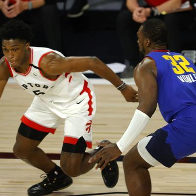Raptors cierran con victoria la temporada regular