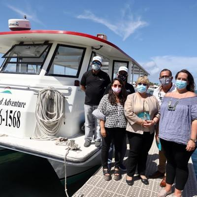 Reinician los viajes a Isla Cardona