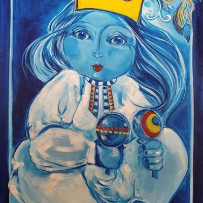 Aislamiento inspira Las coronas de la reina