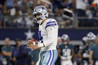 Dak Prescott y los Cowboys dominan a los Eagles