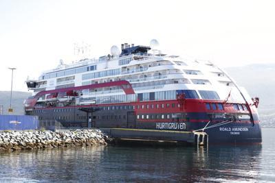 Virus Outbreak Norway Cruise Ship