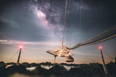 Listo el Observatorio de Arecibo para recibir visitantes