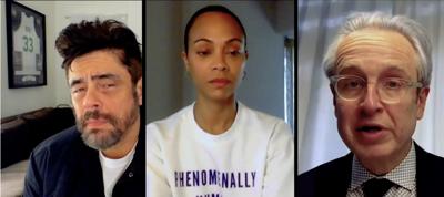 Benicio del Toro entrevistó a su hermano doctor sobre las vacunas del covid-19