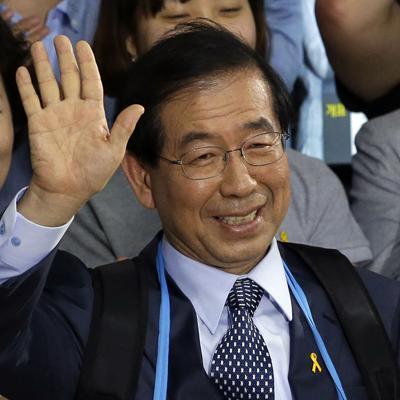 La policía investiga la desaparición del alcalde de Seúl