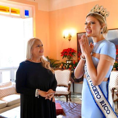 Gobernadora recibe a Madison en La Fortaleza