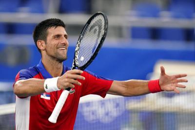 Novak Djokovic disfruta de la experiencia en la Villa Olímpica