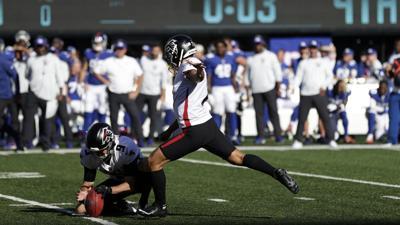 Falcons remontan al superar 17-14 a Giants
