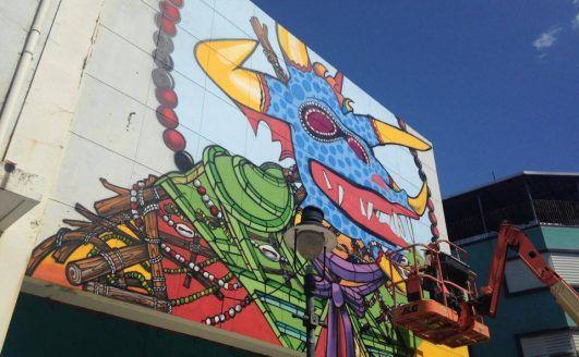 """Arranca el proyecto de arte urbano """"Ponce es Ley"""""""