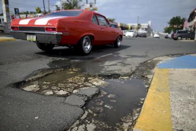 Encaminan plan para reparar las carreteras en San Juan