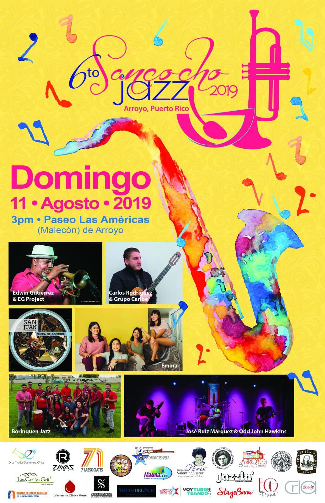 Celebran sexta edición de Sancocho Jazz Fest