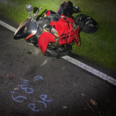 Un joven sufre heridas graves tras accidentarse en una motora en Lares