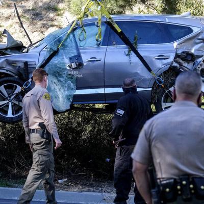'Caja negra' en vehículo de Woods dará pistas sobre accidente