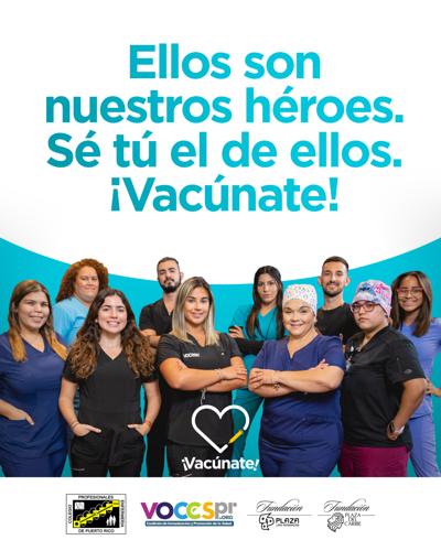 Personal de enfermería se une para exhortar a la comunidad a vacunarse contra el covid-19
