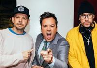 Residente y Bad Bunny encienden con su ritmo show de Jimmy Fallon