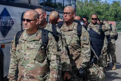 Policías de la Guardia Nacional parten a misión en América Central