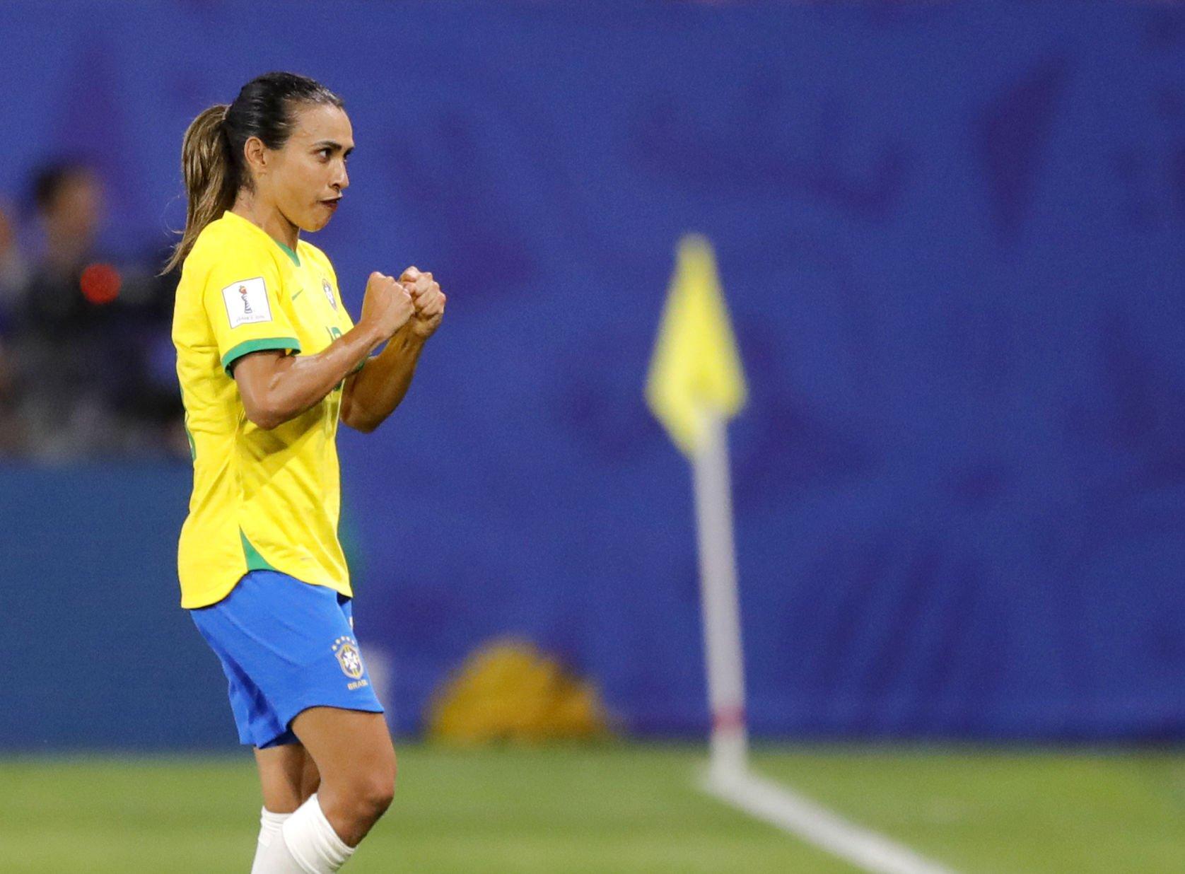 Marta se convierte en la máxima goleadora de los Mundiales