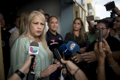 Wanda Vázquez suspende labores del sistema público