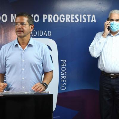 Pedro Pierluisi y Thomas Rivera Schatz