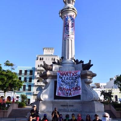 Exigirán remoción de estatuas de Colón y Juan Ponce de León
