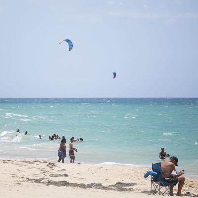 Salud pide cautela en las playas