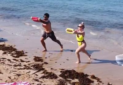 Francis Torres y Natalia Rivera comparten su rutina de ejercicios