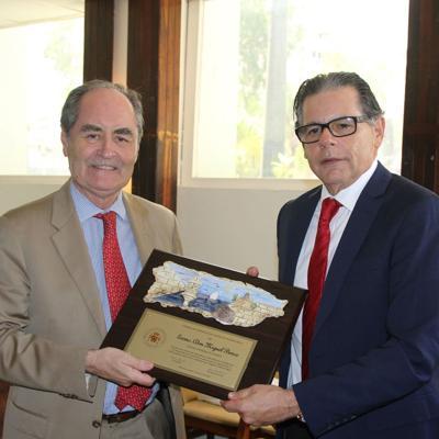 La Cámara de Comercio de España en Puerto Rico despide al Cónsul General de España