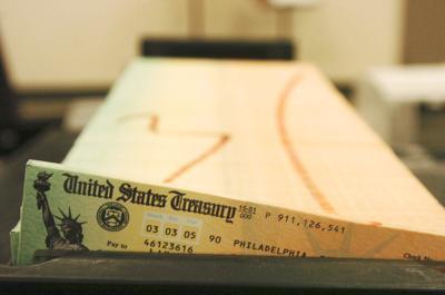 cheque, seguro social