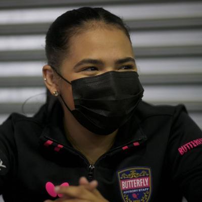 Tenimesista utuadeña Adriana Díaz solicitó el voto ausente