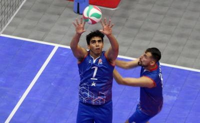 Copur sale al rescate de la selección de voleibol masculina