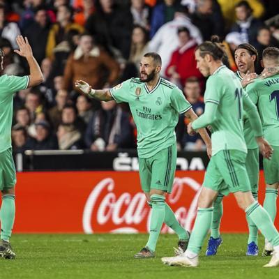 Real Madrid rescata dramático empate frente al Valencia