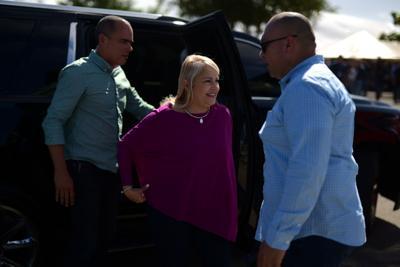 Gobernadora se reúne con alcaldes del sur