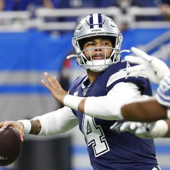 Dallas vence 35-27 a Detroit