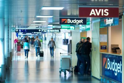 Car rental agencies in Helsinki Airport