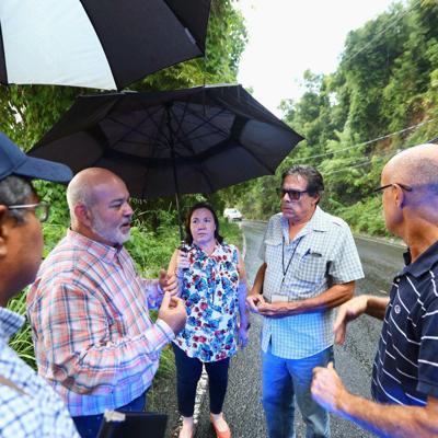 Denuncian peligrosidad de carretera carretera PR-349 en Mayagüez