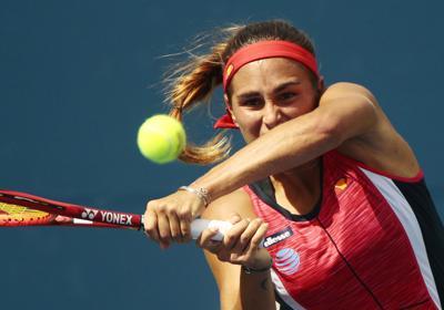 Paso fugaz de Mónica Puig por el US Open