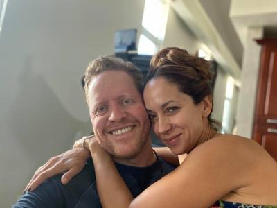 Alexandra Fuentes y David Bernier