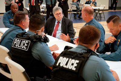 Mano dura contra detenidos en manifestaciones en Estados Unidos