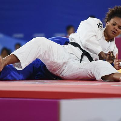 Tras la presea perdida la judoca María Pérez