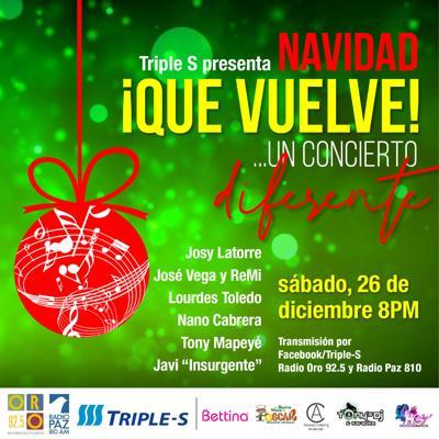 """""""Navidad que vuelve… un concierto diferente"""""""
