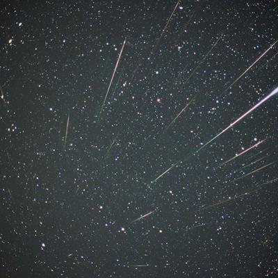 Lluvia de estrellas fugaces visible a simple vista durante este fin de semana