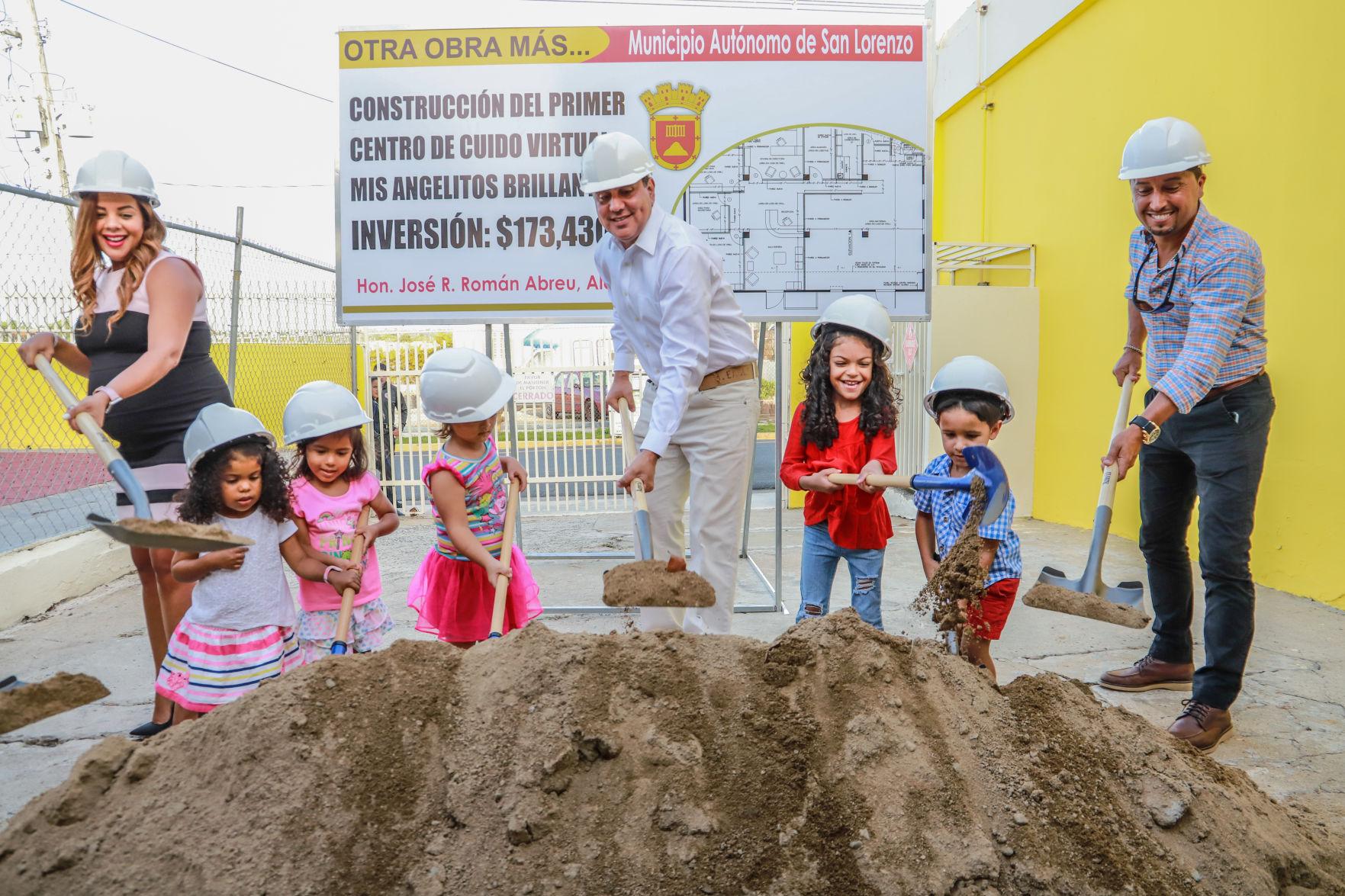 Invierte San Lorenzo en construcción de primer Centro de Cuido Virtual